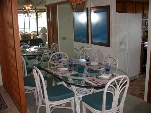 Polo Beach #302 Dining Room